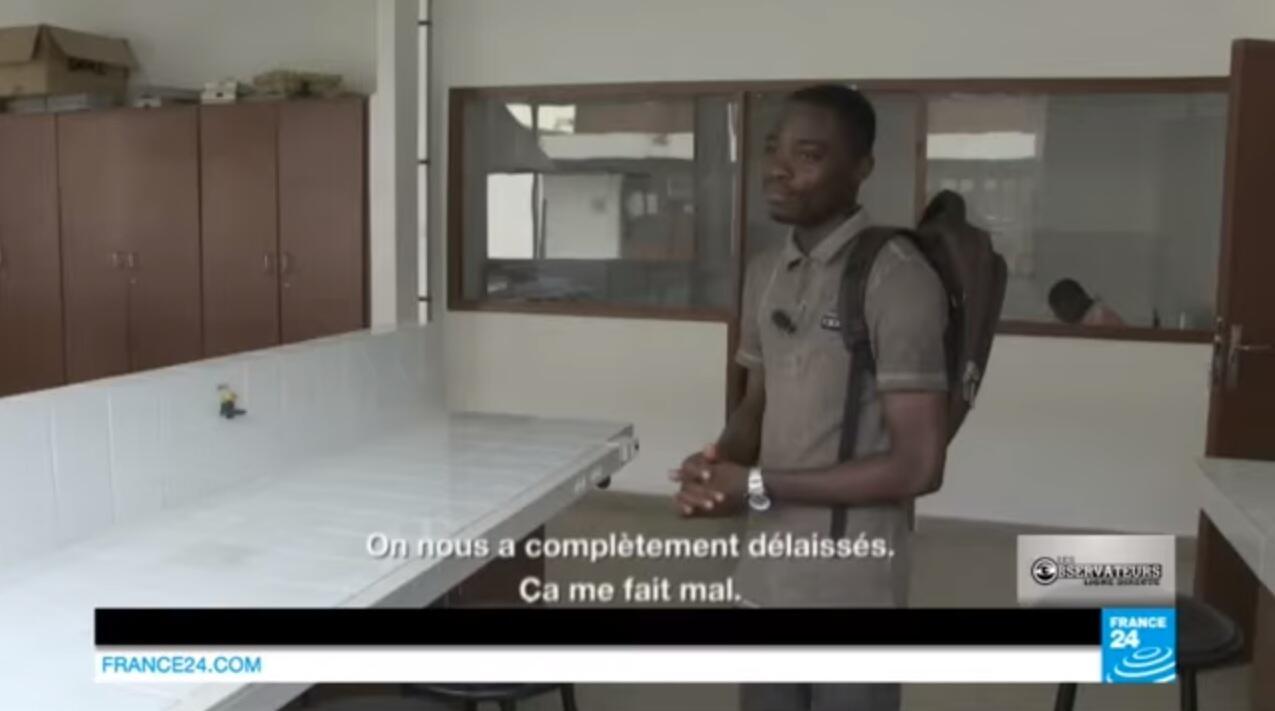 Capture d'écran du reportage Ligne Directe de juillet dernier.
