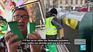 """Ludovic Franceschet, l'éboueur parisien qui raconte son """"beau métier"""" sur TikTok"""