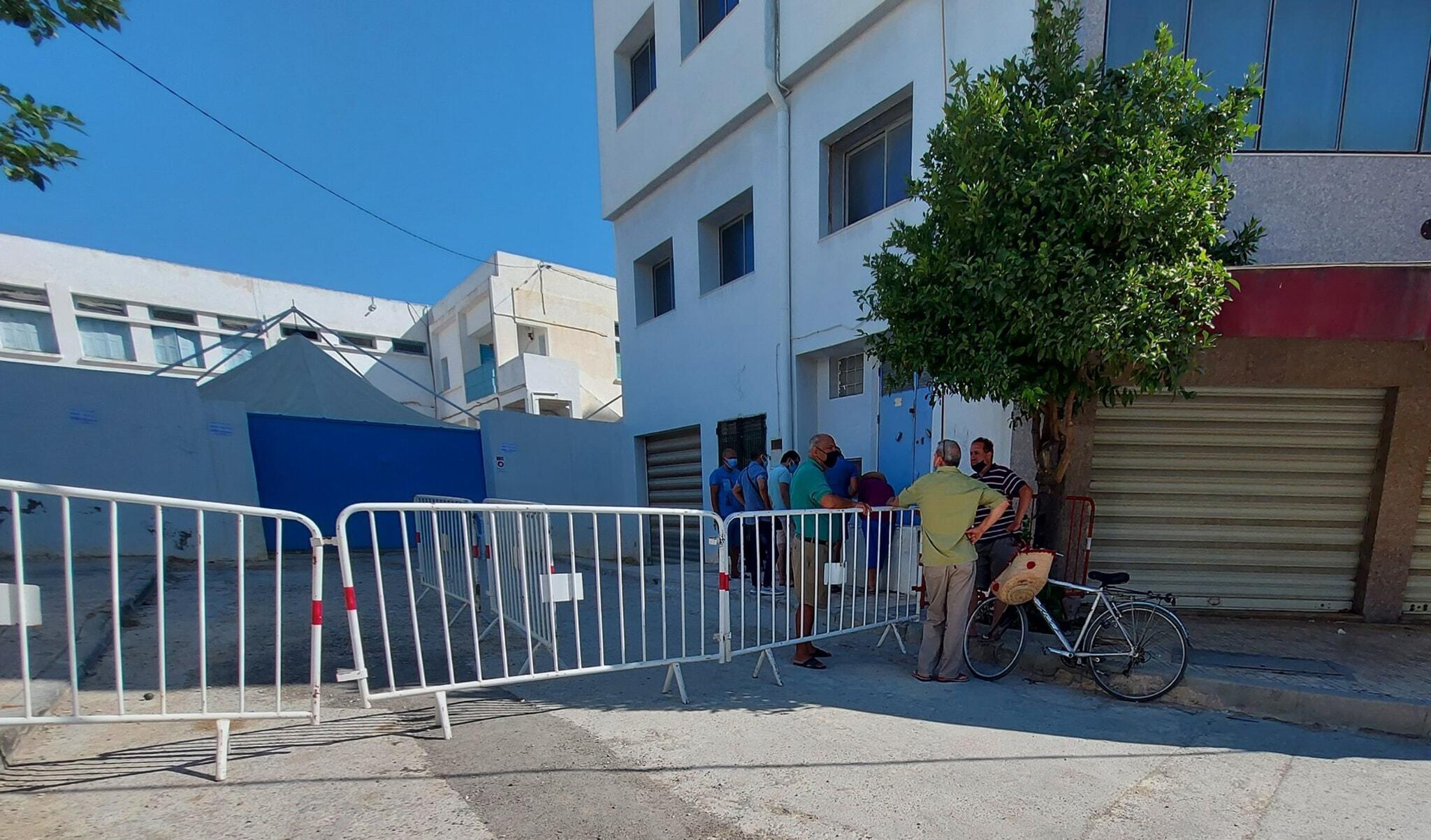 À Nabeul, dans le nord-est de la Tunisie, la journée de vaccination ouverte à tous s'est déroulée dans le calme.