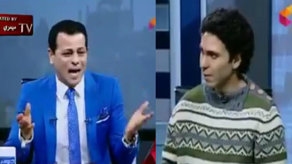 Capture d'écran de la télévision égyptienne Alhadath Alyoum.