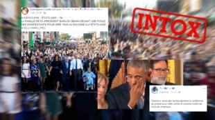 Des photos montrant Barack Obama ont été associée au contexte de la mort de Georges Floyd. Mais ces images sont anciennes.