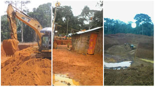 Dans le village d'Elogo, une société minière crée d'importants dégâts écologiques et sociaux.