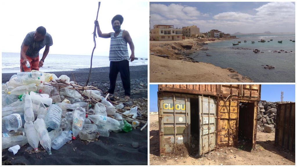 The Movement Against Pollution in Cape Verde publishes environmental alerts accompanied by photos on its Facebook page. Photos: Movimento Contra a Poluição em Cabo Verde / Facebook.
