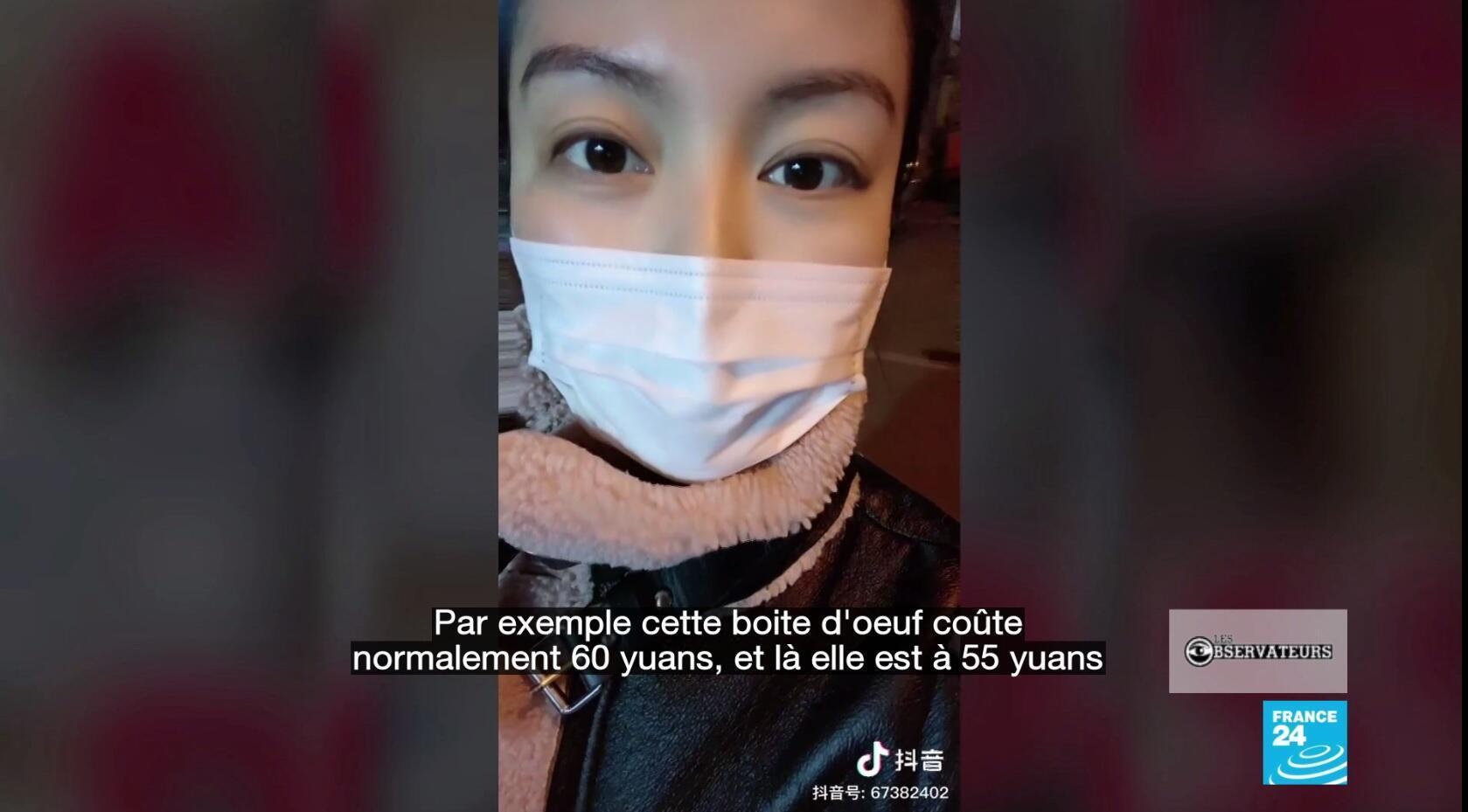 Une internaute de la région du Hebei documente son quotidien en plein reconfinement.
