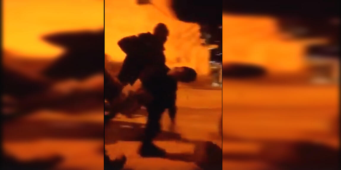 Capture d'écran de la vidéo de notre Observateur, après le décès de l'adolescent.