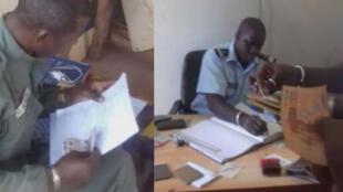 Captures d'écran des vidéos ci-dessous, prises par notre Observateur, au Mali (gauche) et au Sénégal (droite).