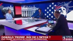 Combien de fausses informations Donald Trump a t-il relayé durant sa présidence ? Le point avec Alexandre Capron.