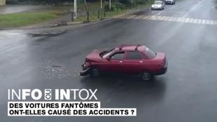 Des voitures fantômes qui créent des accidents toutes seules ? Comment vérifier cette vidéo ?