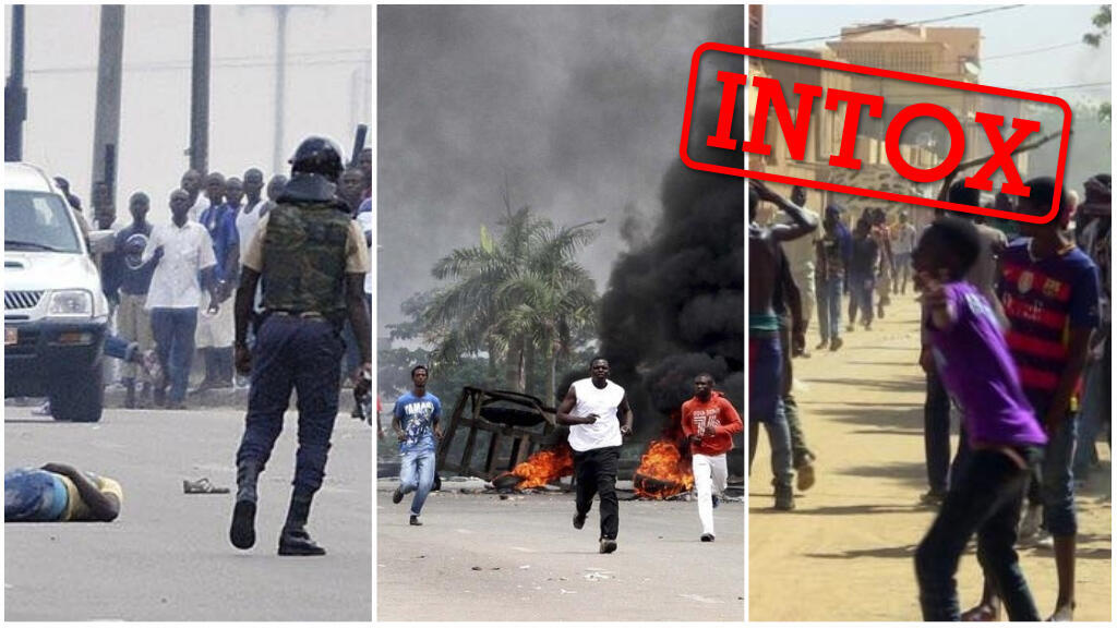 Plusieurs images prétendant montrer des heurts après les résultats de l'élection présidentielle malienne ont été pris soit dans d'autres pays, soit il y a plusieurs années.