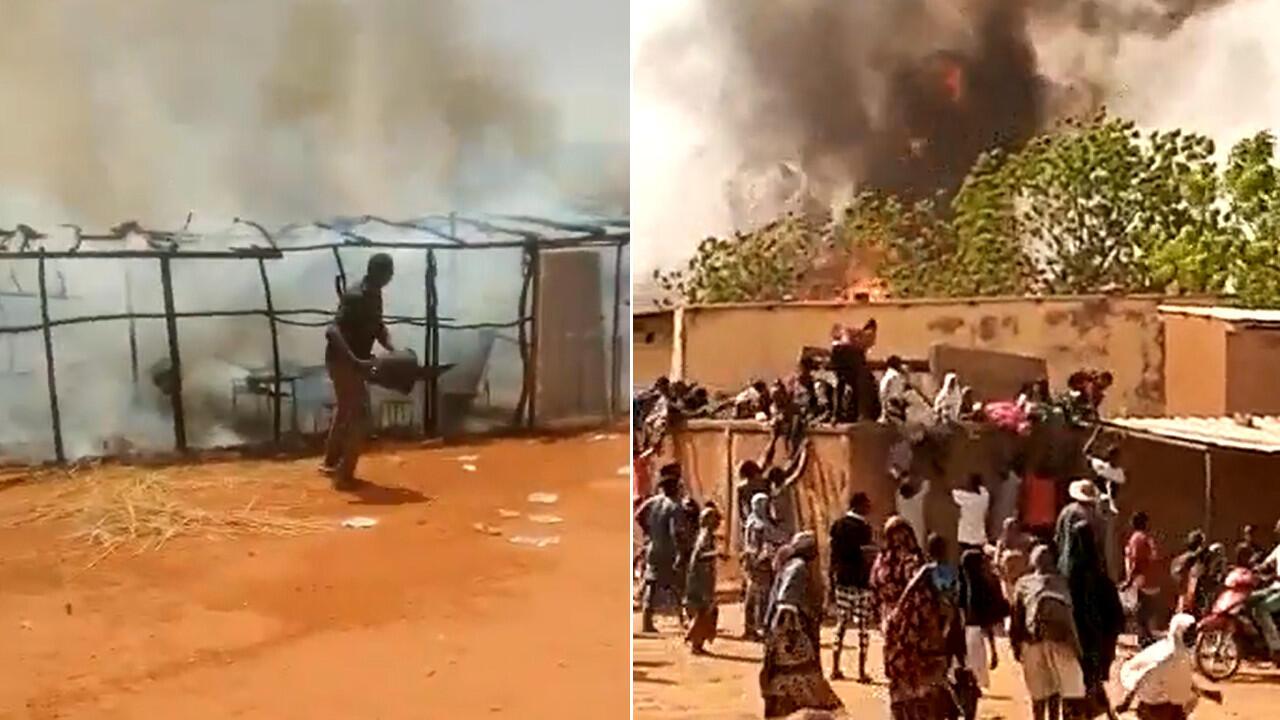 Au Niger des incendies ont ravagé courant avril plusieurs écoles de Niamey. Les salles de classe étaient construites en paille.