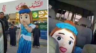 Un homme déguisé dans un costume de princesse a été arrêté vendredi dernier à Riyad par la police religieuse des moeurs saoudienne.