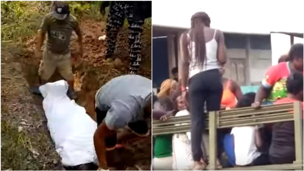 Captures d'écran des vidéos ci-dessous. Toutes les vidéos dans cet article ont été tournées par AntonioV., notre Observateur angolais.