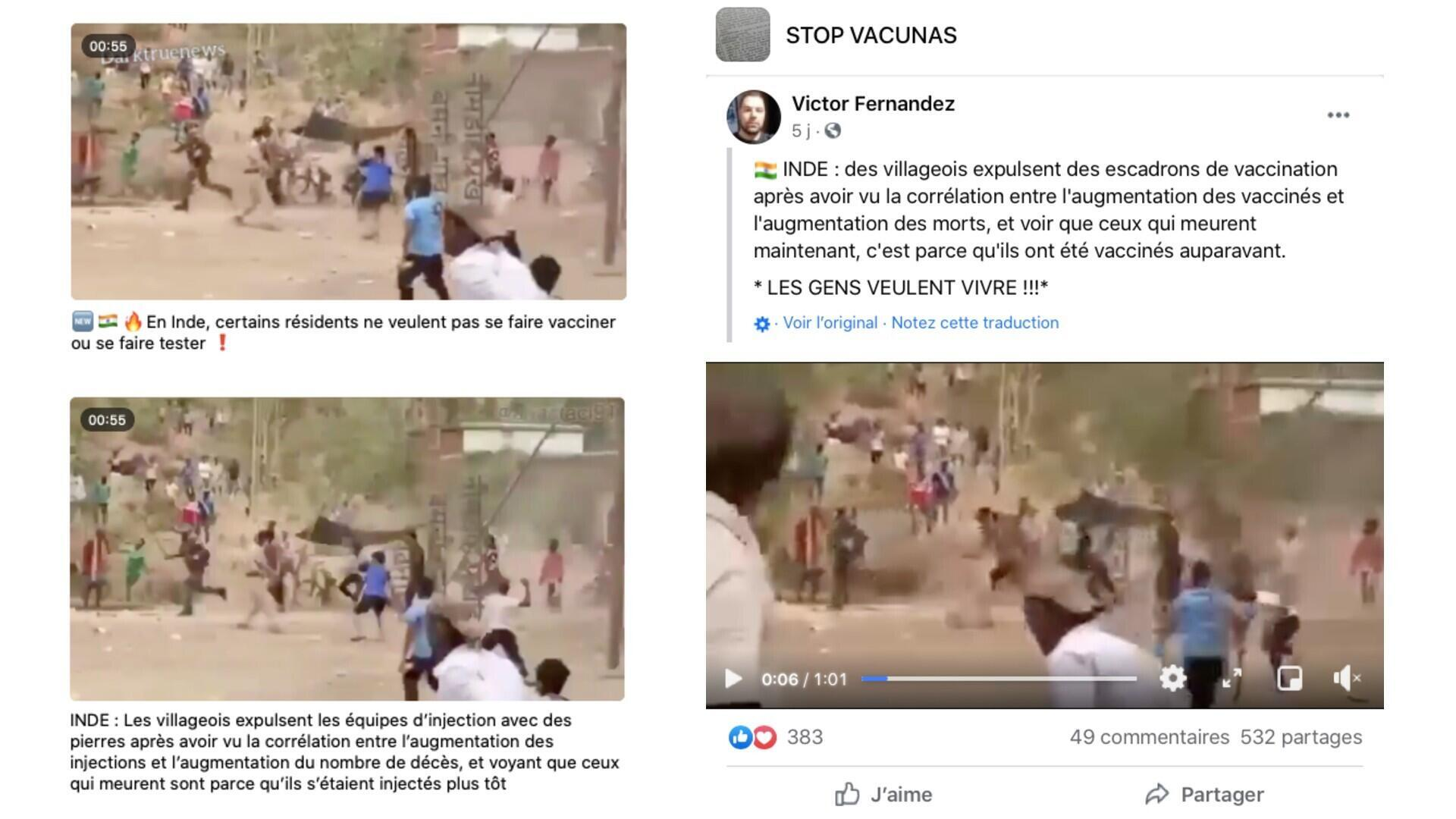 مطالب مشابه همچنین در تلگرام و فیسبوک نیز منتشر شده است.
