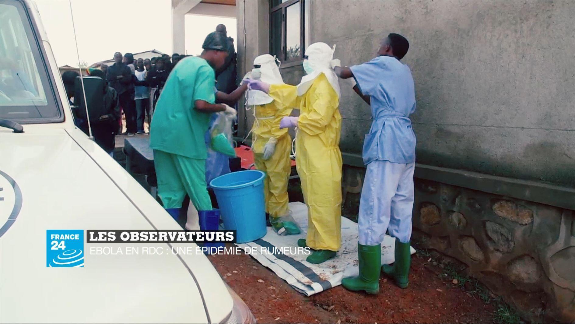 Les équipes médicales enRDCongo doivent se battre contre le virus Ebola et contre les rumeurs.