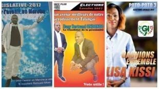 Plusieurs affiches comprenant de grosses fautes de français ont été publiées sur les réseaux sociaux.