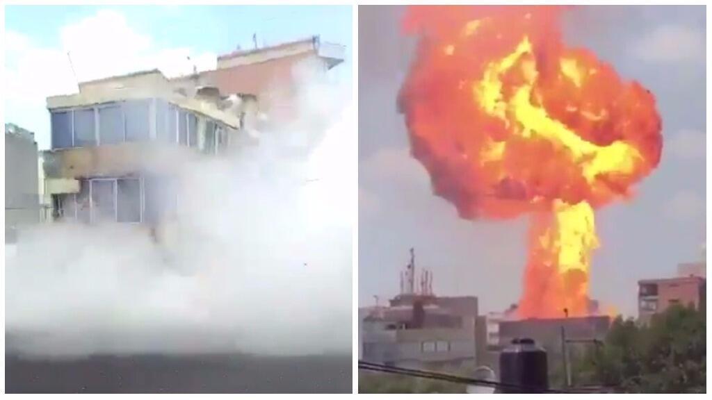 Des vidéastes amateur ont été témoins de scènes impressionnantes provoquées par le séisme de magnitude 7.1 au Mexique mardi 19 septembre.
