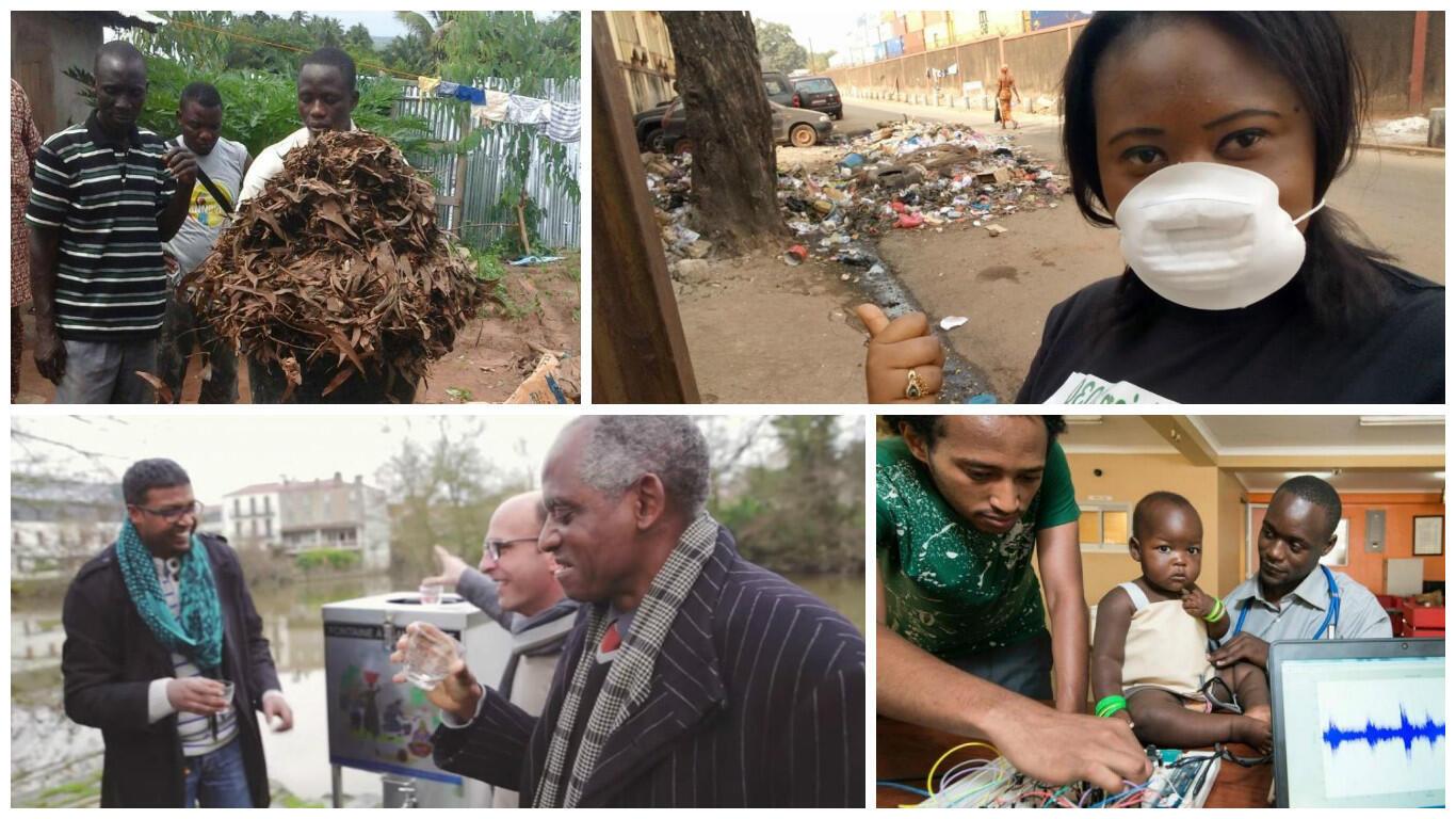 Bénin, Guinée, France ou Ouganda... ces projets font bouger le monde... à vous d'élire celui que vous préférez !