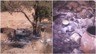 Le village de Zelevet, dans l'Extrême-Nord du Cameroun, a été attaqué par Boko Haram dimanche 27 janvier. Toutes les photos ont été envoyées par Florent et Boris (pseudonymes).