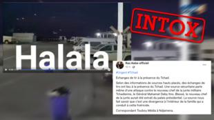 """Cette vidéo ne montre pas un """"coup d'État"""" au palais présidentiel tchadien, mais des affrontements dans la province irakienne de Maysan en 2020."""