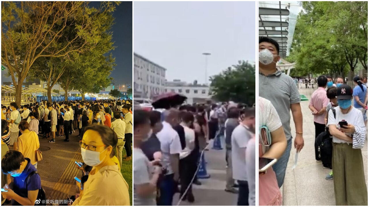 More than 300,000 people have gone to Covid-19 testing centres and hospitals in Beijing since June 13, when new cases of the coronavirus started popping up in the capital.