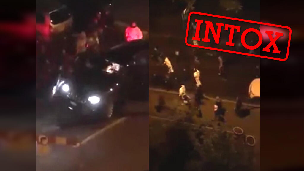 Selon des internautes, la vidéo montrerait une attaque de migrants dans les rues de Metz... une intox qui a d'aileurs traversé les pays.