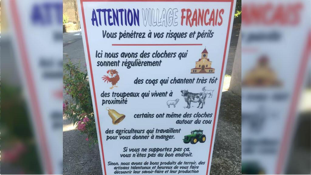 Photo postée sur Facebook par le maire de Saint-André-de-Valborgne