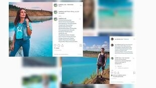 Thousands of Instagram posts were posted from the ash dump of a Novosibirsk power plant.