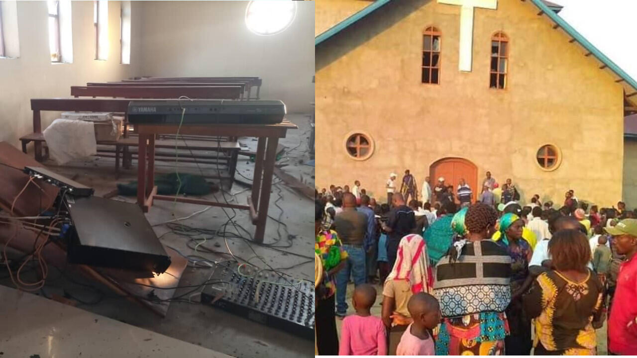 In Beni, in eastern DR Congo, two homemade bombs exploded at a Catholic church and a bar on Sunday, June 27, killing one person and injuring several others.