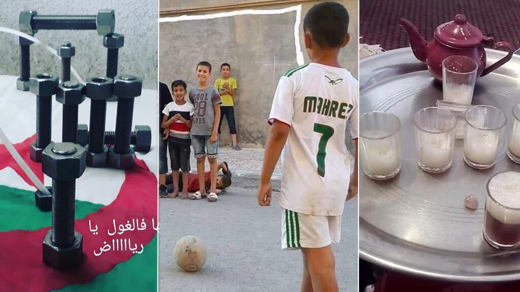 Pour imiter le but de Riyad Mahrez, de nombreux Algériens ont posté leur #MahrezChallenge.