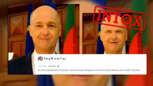 Une vidéo prête des propos à l'ambassadeur du Cameroun en France, mais il s'agit d'un deepfake réalisé à partir d'une application pour téléphone.