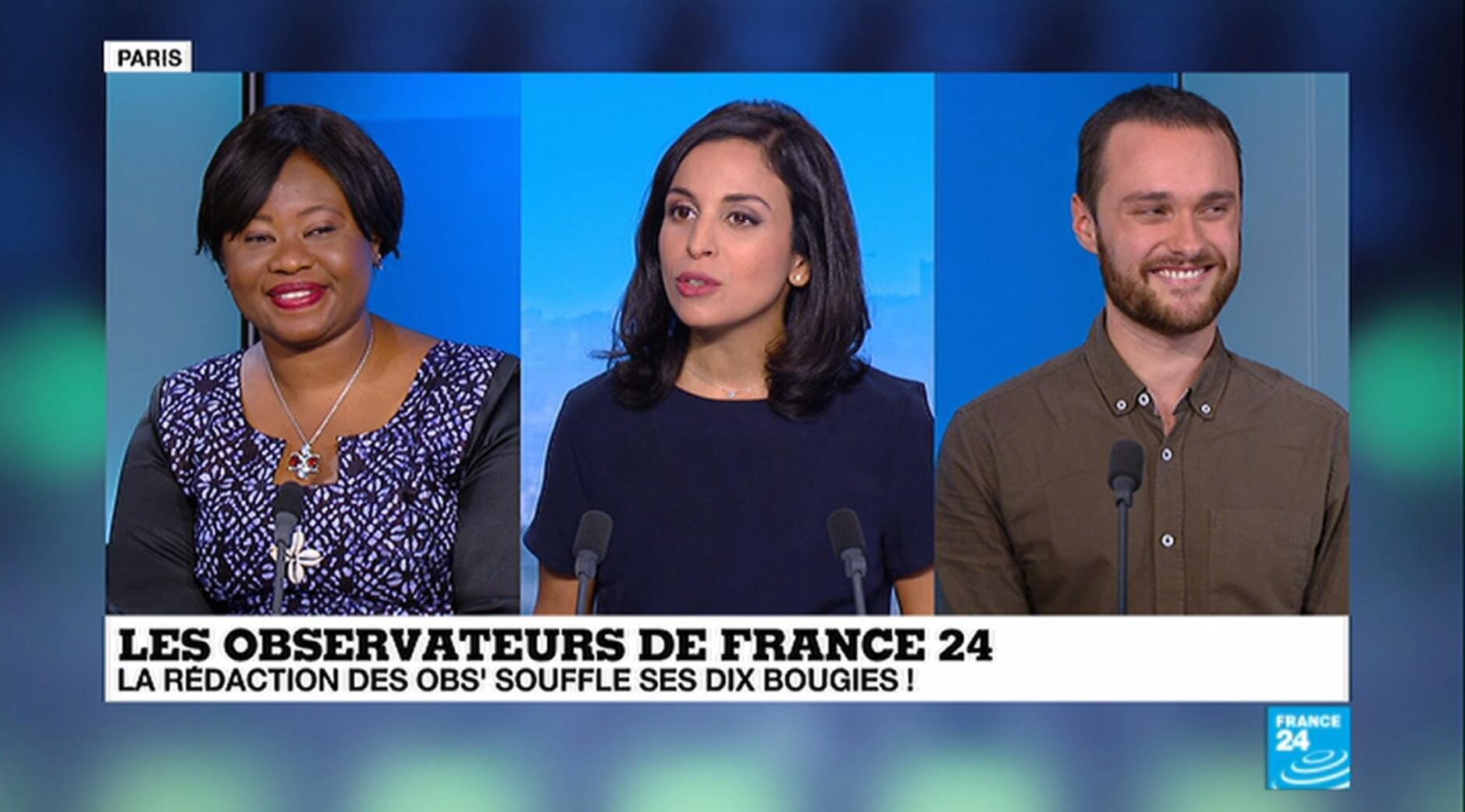 Fatoumata Chérif, Achren Verdian et Alexandre Capron reviennent sur les 10 ans des Observateurs de France 24.