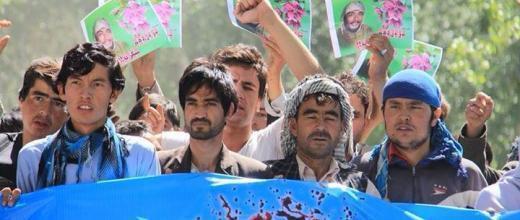 Des manifestations dans les rues de Bayman, le 7 juillet.