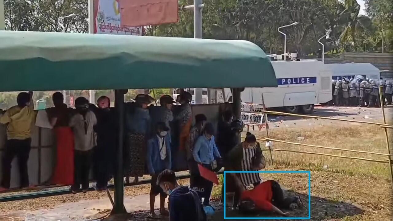 main birmanie