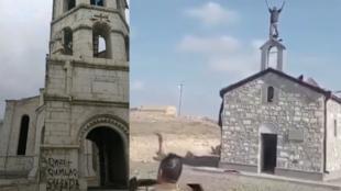 Eglises arméniennes déteriorées