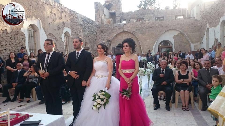 Le mariage a été célébré le 12 juillet 2015. Image postée sur Facebook.