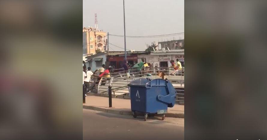 """À Brazzaville, les gangs d'adolescents appelés """"les bébés noirs"""" sèment la terreur au sein des populations. Capture d'écran / réseaux sociaux."""