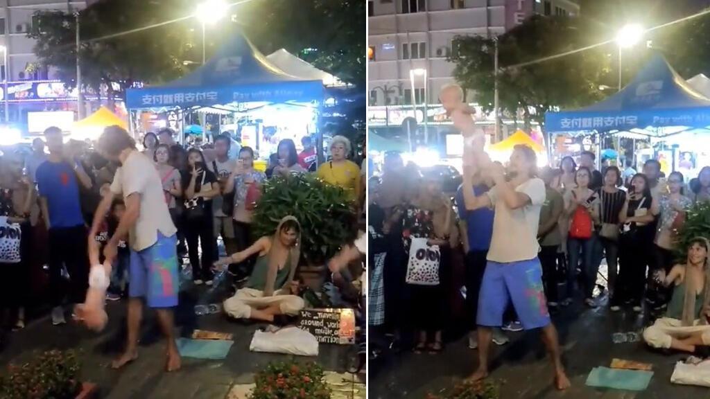 Quelques jours après la publication de ces images sur les réseaux sociaux, les deux touristes ont été arrêtés. Capture d'écran / Facebook.