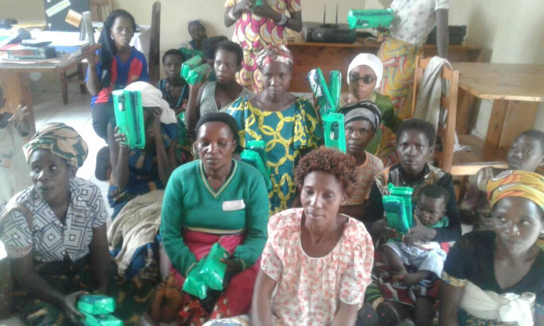 These women get support from a group for single mothers in Bujumbura called l'Association des mamans célibataires à Bujumbura.