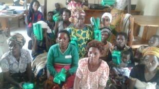 Des femmes prises en charge par l'Association des mamans célibataires à Bujumbura.