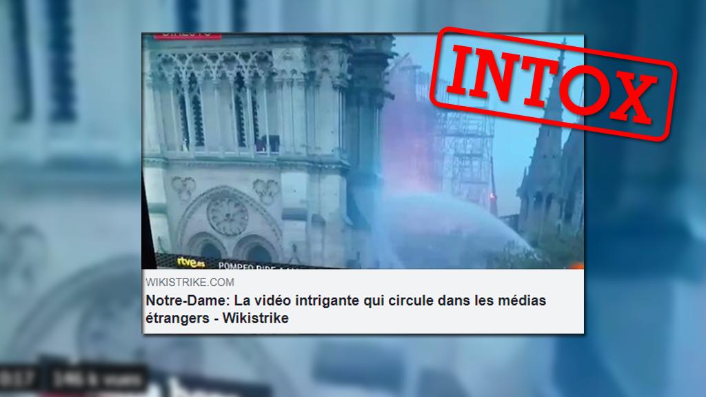 Un homme portant un gilet jaune aurait été aperçu alors qu'aucune personne n'était censée se trouver dans Notre Dame pendant l'incendie. Le pyromane ? L'explication est plus simple.