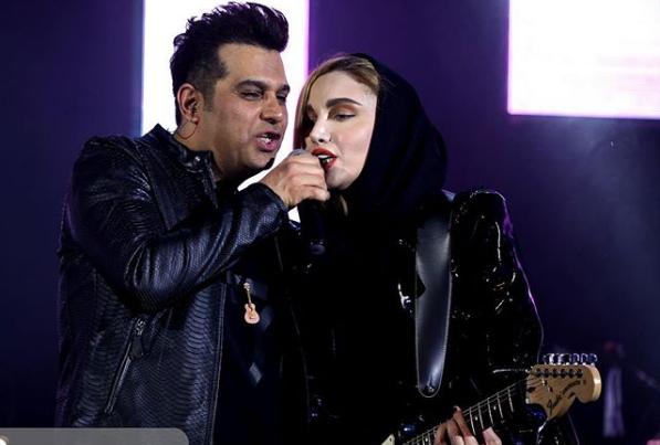 In Iran, women aren't allowed to sing solos. (Photo: Negin Parsa, Instagram)