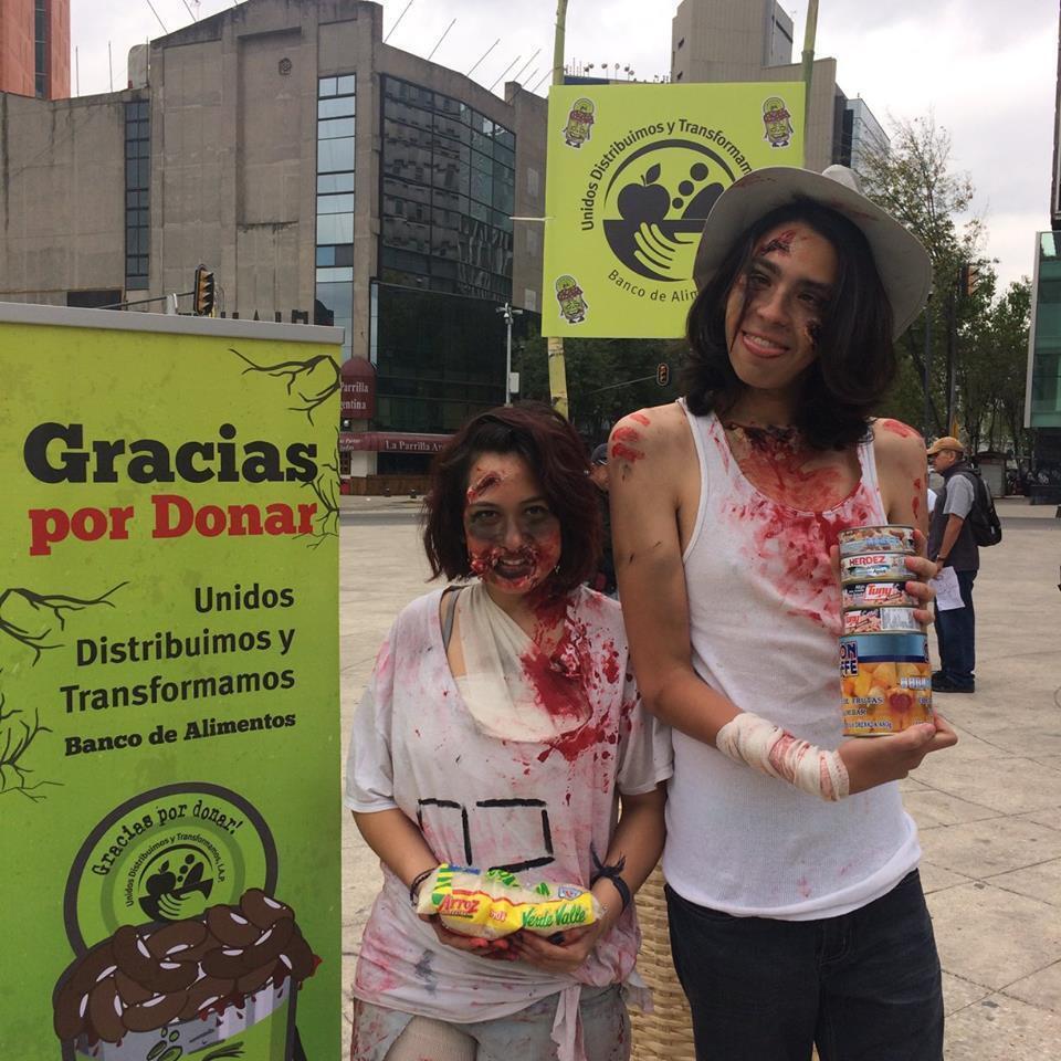 """Photo publiée sur la page Facebook """"Unidos Distribuimos y Transformamos, IAP""""."""