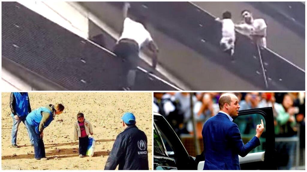 Trois exemples d'images qui ont circulé et ont été l'objet de théories du complot ou de mauvaises interprétations, car leur angle ne donne pas toute l'information.