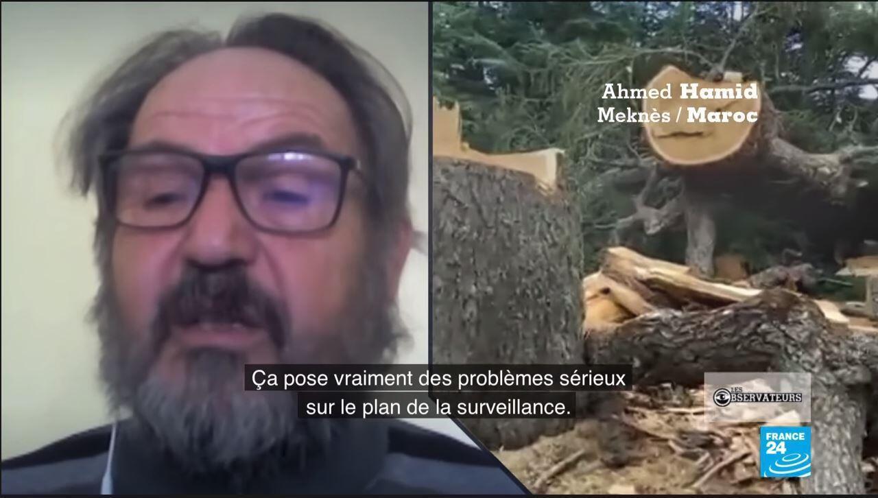Ahmed Hamid, membre de l'Association des Enseignants des Sciences de la Vie et de la Terre du Maroc (ASEVT).