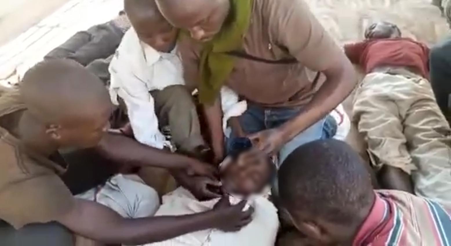 La vidéo a été filmée le 3 juillet dans la prison de Kalehe au Sud-Kivu.