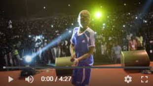 Spectacle de danse d'anciens enfants des rue à N'Djamena