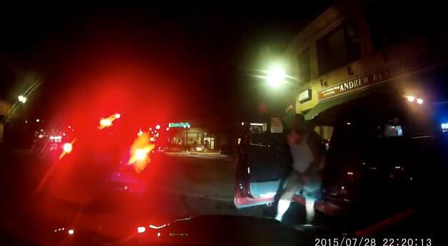 لقطة من الفيديو أدناه.