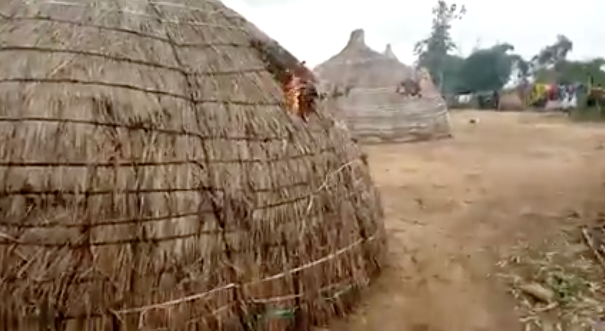 This video shows an attack that took place against Fulani herdsmen in Southeast Nigeria in February, 2021.