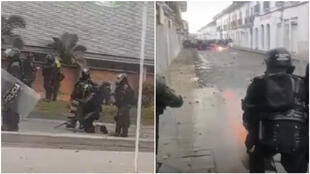 colombie-venom-manifestations-tirs-police