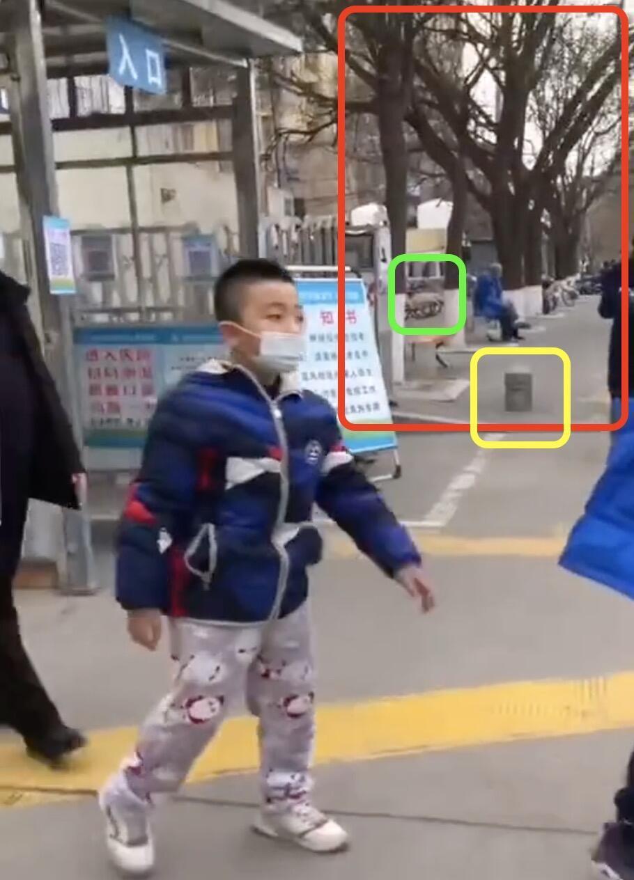 صورة شاشة ملتقطة من النسخة الأطول لمقطع الفيديو.
